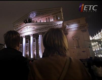 Light Festival 2014 - Bolshoi Theatre