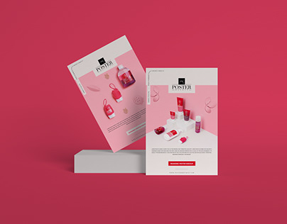 Branding PSD Poster Mockup Design Free