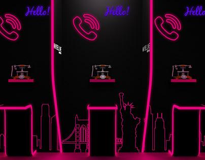 Maybelline Exhibition set up