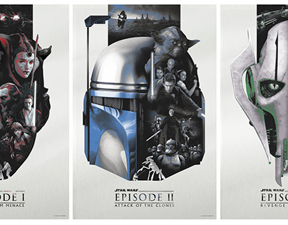Star Wars Prequel Posters