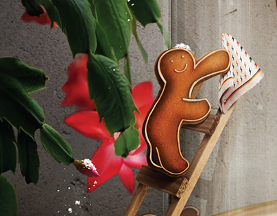 Ginger Bread Cappuccino poster