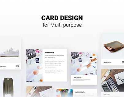Card Design for Multi-purpose