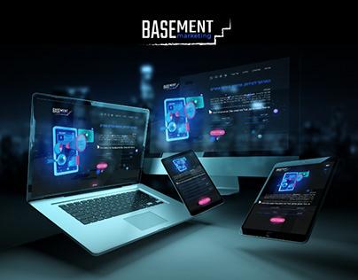 Basement Marketig website