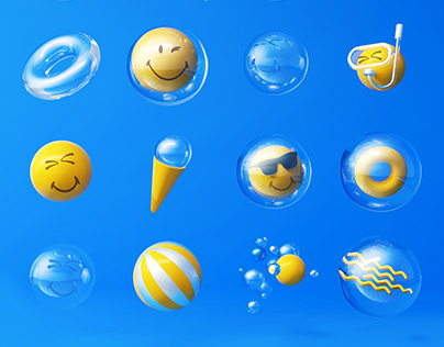 Bubble & Smiley | Hyundai Department Store