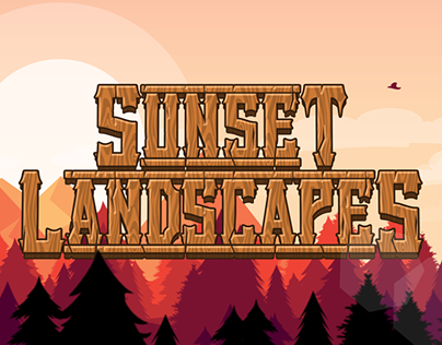 Sunset Landscapes Template