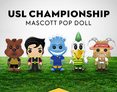 USL Championship Pop Doll Concept Art