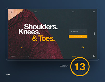 Si™ Daily Ui Design | Week 013 Collection