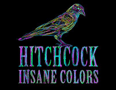 Alfred Hitchcock Insane colors - Series 2017/2018