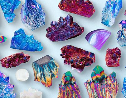 Modern Crystal Geodes