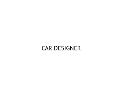 CAR DESIGNER, Michele Leonello
