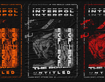 Interpol - Kinetic Poster Art