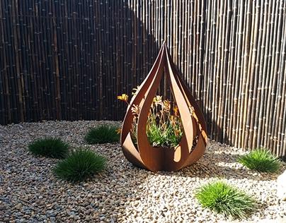 Australian Native Courtyard Design. Beecroft, NSW