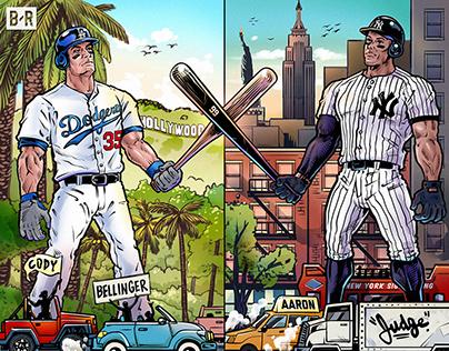 2017 MLB Home Run Derby: Bellinger vs Judge