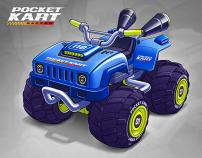 Pocket Kart Racing
