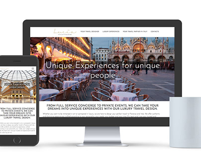 Lucia - Layout Sito Web Responsive