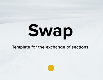 Swap - Adobe Muse Multiproposite Template