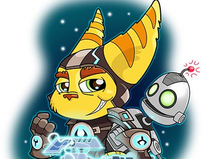 Chibi Ratchet & Clank