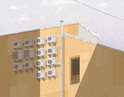 CITY FRAGMENTS 2020 illustration