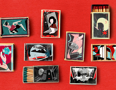 Twin Peaks Matchboxes