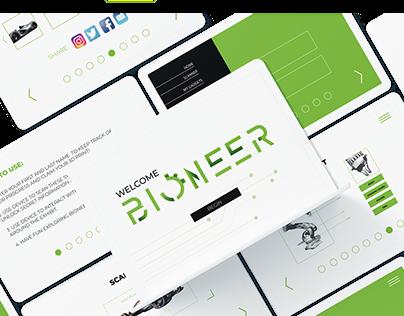 BIONEER: An interactive Exhibit