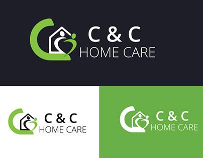 c &c home care logo