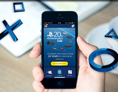 PlayStation - Mobile App Concept