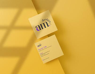 Logo + Cartão de Visita - @amandi.design