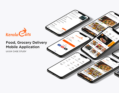 Food, Grocery Delivery Mobile Application