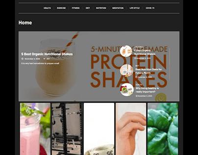 Blog WordPress Website - Umer Web Geek
