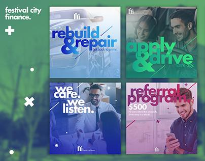 festival city finance - Social Media Branding