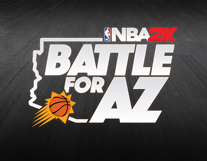 Battle for AZ Logo and Usage Mocks