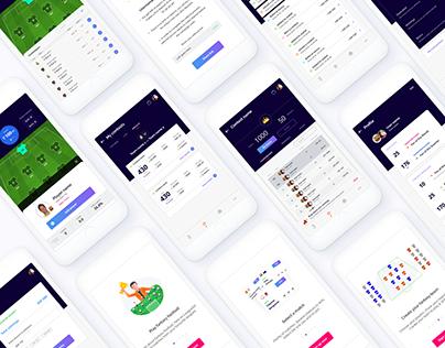 Leaguesx iOS mobile app