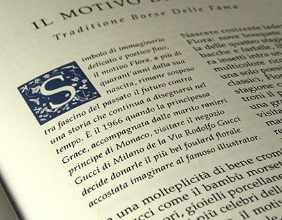 Classical Typography Brochure