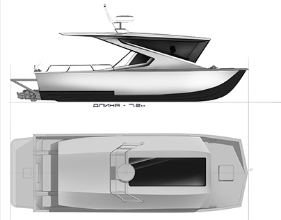 Project of boat interior KS-Trim 650