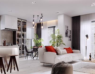 Design-apartment interior