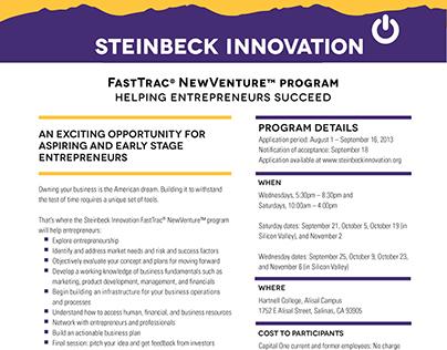 Steinbeck Innovation Flyer