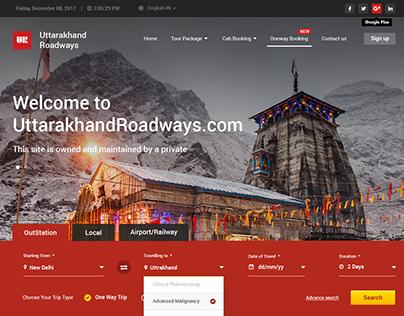 UKR Roadways Website Design
