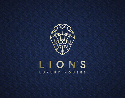 Lion's Luxury Houses. Branding and Social Media.