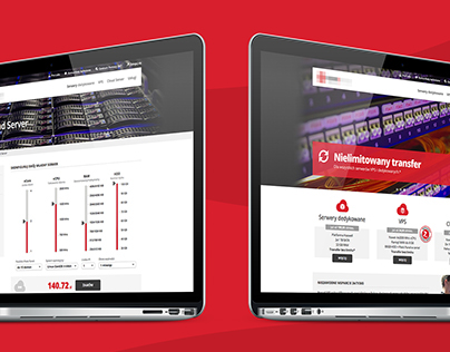 Webhosting company - website (2013)