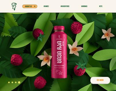 Gurieli Ice Tea Website