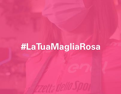 #LaTuaMagliaRosa - Enel Digital Film and Social Media