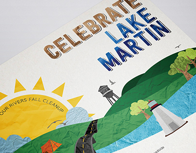 Lake Martin Cleanup Event Poster
