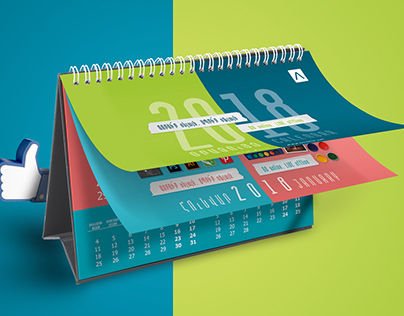 Calendar Design For Ameriabank