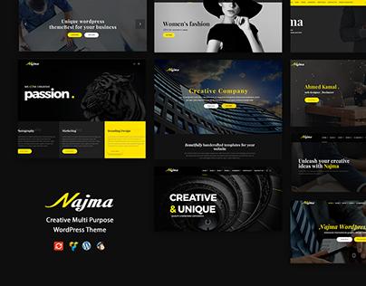 Najma - Creative Multi-Purpose WordPress Theme