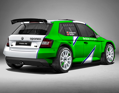 whitegraphic | Škoda Fabia R5 Oponeo Motorsport WRC2