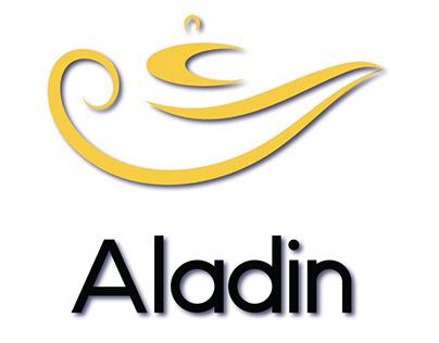 Aladin Online Shopping Website Logo