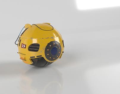Robotic Prop model