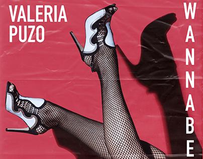 WANNABE BY VALERIA PUZO cd cover design