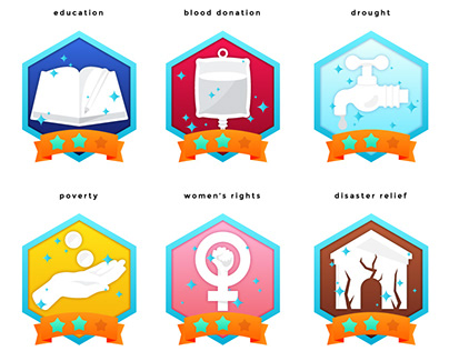 Impact - App Illustration and Iconography