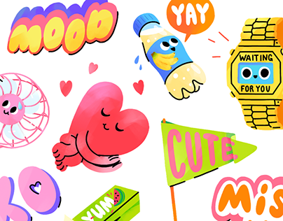 GOOD MOOD sticker pack for Snapchat